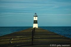 where the sidewalk ends (Gaby Swanson, Photographer) Tags: park lighthouse lakeerie pennsylvania presqueisle presqueislelighthouse palandscape
