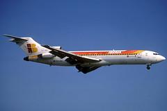 Iberia B727-256 EC-GCI BCN 03/07/1999 (jordi757) Tags: barcelona nikon airplanes bcn kodachrome boeing f90x iberia kodachrome64 avions 727 elprat b727 b727200 lebl ecgci