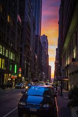 Evening in New York (Oleg.A) Tags: street usa newyork manhattan evening megalopolis