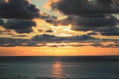 Sunset Dune du Pilat (ArthurGuingant) Tags: ocean sunset sea cloud sun sunlight landscape holidays dune pointofview cloudporn
