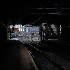 Wed 6-May (126 / 365 / 2015) - Victoria train station (Steev McAlister) Tags: uk greatbritain station train manchester europe day britishisles unitedkingdom britain structures railway architectural event british 365 items dates edition 126 day126 victoriastation 2015 greatermanchester 126365 substructures day126365 365the2015edition 3652015 6may15