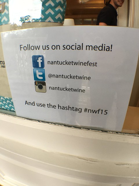 Nantucket Wine Festival #nwf15