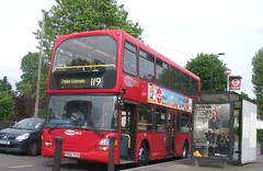 Metrobus 446 on route 119 Stafford road  23/05/15. (Ledlon89) Tags: bus london transport londonbus metrobus tfl goaheadlondon bsues