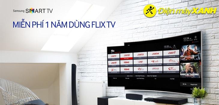 Mua Tivi Samsung đón Euro hưởng nhiều ưu đãi