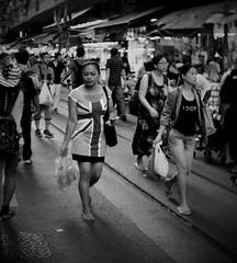 (a.pierre4840) Tags: portrait blackandwhite bw monochrome hongkong dof nightshot noiretblanc market candid streetphotography olympus depthoffield handheld vignetting xenon omd 25mm schneider selectivefocus kreuznach f095 em5 cmount
