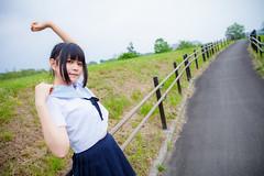 Model: (kanon_7) Tags: portrait schoolgirl   seifuku
