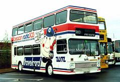 2056 BOK 56V (WMT2944) Tags: travel west bok midlands metrobus mcw 2056 mk1 wmpte 56v