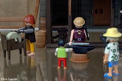 El herrero - The blacksmith (Eva Ceprin) Tags: toy toys medieval blacksmith montblanc juguetes playmobil juguete maqueta clicks herrero montblanch nikond3100 tamron18270mmf3563diiivcpzd evaceprin medievalfairmontblanc feriamedievaldemontblanc