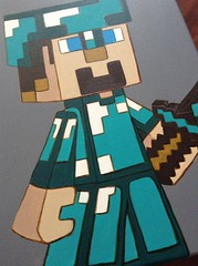 minecraft1 (rtmdesignsart) Tags: art kids artwork handmade painted awesome style wallart games canvas gifts giftideas ps4 minecraft