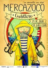 Mercazoco Julio Cudillero portada (De tu Sueo y Letra) Tags: market asturias julio cudillero mercadillo cartel mercazoco