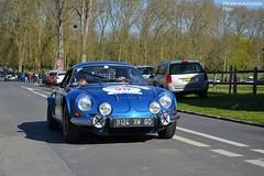 Alpine A110 1600 SC 1975 (Monde-Auto) Tags: auto france tour course bleu alpine coup a110 comptition automoto berlinette