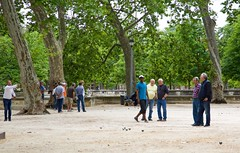 Boules In Nimes, France (tonyd1947) Tags: game france games nimes boules outdoorgames