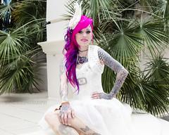 Great British Tattoo Show 2016 (Nick Atkins Photography) Tags: london fashion tattoo lingerie alexandrapalace latex alternative nickatkinsphotography greatbritishtattooshow2016 jackiepritloveoneill