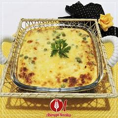 Torta Cremosa de Po de Forma (Almanaque Culinrio) Tags: food recipe comida gastronomia culinria receita