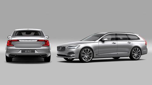 Volvo S90 & V90 Polestar