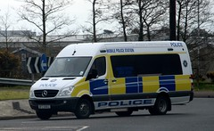 Police Service Northern Ireland / BFZ 6902 / Mercedes Benz Sprinter / Mobile Police Station (Nick 999) Tags: ireland station mobile mercedes benz police service northern sprinter psni 6902 bfz mobilepolicestation mercedesbenzsprinter policeservicenorthernireland bfz6902