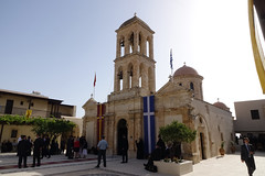 Divine Liturgy at the Patriarchal and Stavropegial Monastery of Gonia (holycouncil) Tags: christian divine greece monastery crete orthodox liturgy chania gonia holyandgreatcouncil