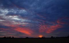 Dungarubba sunset 2 (dustaway) Tags: winter sunset sundown australia nsw northernrivers richmondvalley sunlitcloud dungarubba