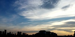 Dusk photo by mobile (Fresh daily Mr. C) Tags: sky cloud dusk