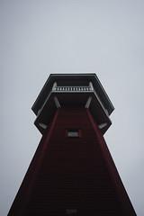 Haralanharju, Kangasala, Finland (kooikkari) Tags: wood summer sky tower clouds observationtower kangasala