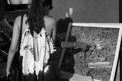 I lived there (@ntomarto) Tags: street city urban blackandwhite bw italy woman rome roma donna women strada italia arm citylife donne biancoenero citt braccio ancientrome anticaroma indicare antomarto ntomarto