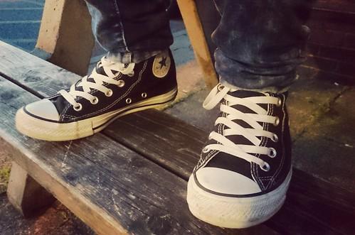 Black Converse: No.1