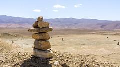 cairn (fvfavo) Tags: mountains rocks morocco atlas cairn marokko tadlaazilal imintizgui