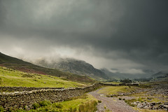 Langdale Valley (DuncanTyson) Tags: uk england cloud lake weather canon district stormy valley langdale langdales 2013