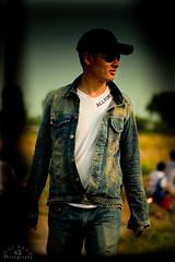 street boy (Duc _ Pham) Tags: street boy field hat sunglasses zeiss lomo jean cap carl 5d 135 dust 135mm jeen graphy