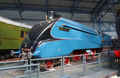 LNER Class A4 4468 Mallard - the absolute highlight of the tour (Ronald_H) Tags: world york uk holiday film museum nikon railway class steam national locomotive mallard a4 expired fastest lner 2015 4468