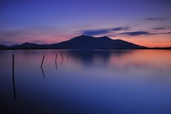 Muckross (Paul O'B) Tags: longexposure ireland sunset lake water easter dusk muckross killarney offshoot paulobrien