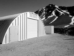 quonset steel building in Chile
