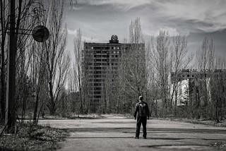 Skies above....Chernobyl selfie