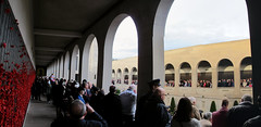 Panorama from the West Gallery (spelio) Tags: memorial war day australia canberra 100 act anzac awm centenary 2015 anzac100