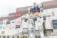 Gundam Front Tokyo - Odaiba (IQRemix) Tags: giant tokyo robot   odaiba gundam mecha statute    rx782  rx78 divercity