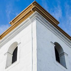 Kyrkbyn (Patrik hman) Tags: churchtower worldheritage gammelstad lule vrldsarv kyrktorn tamron2470f28divcusd