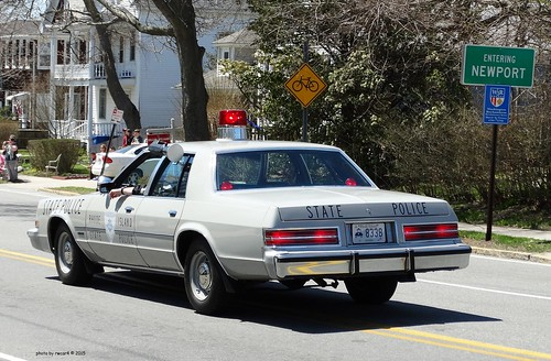 Rhode Island State Police 1979 Chrysler Newport Restored 3 A