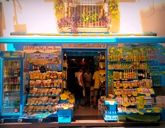 Limoncello, the original with lemons from Sorrento (jjamv-off hols.) Tags: shop capri lemon campania wine display paste napoli naples shopwindow sorrento amalfi shopfront vino yelllow limoncello taxfree holidaysvacanzeurlaub jjamv julesvtravel picmonkey shopfrontschallenge lumia930 microsoftlumia930