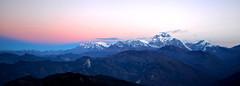 Himalayas vista Poon Hill (kubrick200x) Tags: trip travel viaje nepal sunrise trekking asia amanecer annapurna himalayas viajar asiatrip traveler viajeros poonhill mochilero annapurnabasecamp