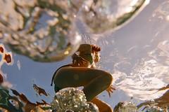 La remontée - Going up (Max Sat) Tags: aquapac bulles chateaudefeuilles fuji fujixe1 fujinon maxsat maxwellsaturnin piscine pool praslin sesel seychelles sousleau underwater wideangle xf14 unexplored