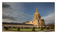 Lumire du soir (Rmi Marchand) Tags: paris france monument canon mark iii des invalides 5d htel