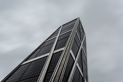 - Stand Alone Look UP - (Mr. LookUP) Tags: madrid windows urban building tower glass architecture clouds canon buildings cloudy unique wideangle lookup 1740mm 2016 cuatrotorres 5diii