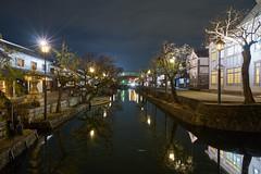 / Kurashiki Bikan (yiming1218) Tags: street light reflection water japan night japanese nightscape sony  quarter historical okayama kurashiki  bikan  a7ii     a7m2 fe1635 sel1635z ilce7m2