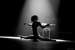 Just a light (tOntOnfred LP) Tags: light woman dance concert women dancing dancer bnw