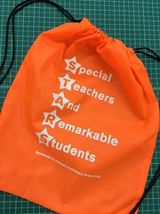 Drawstring Bags (pipandersonsc1) Tags: students marketing anderson giveaway printing pip awards schools promotional branding