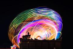 "Spinning Lights (""louisheublein"") Tags: carnival blue light red party color green rot colors yellow bulb night licht rainbow long exposure nacht gelb spinning grn blau fest farbe bunt regenbogen karneval farben feier dult drehen wirbeln"