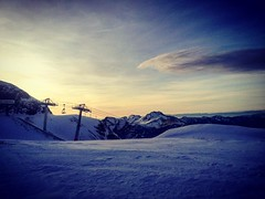 Amazing views from the top of Arare today #morzine #avoriaz #skiology #snow