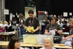 Election count (Coventry City Council) Tags: election coventry le2016