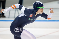 Focused (devannphoto) Tags: ice iceskating worldcup heerenveen schaatsen speedskating thialf bittner speedskater