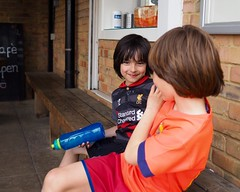 P5070084 (duncankelman) Tags: birthday playing fun kent sprinkler bromley westwickham koasound duncankelman koasoundphotography